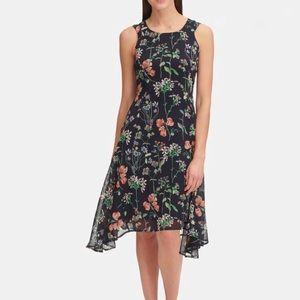 Tommy Hilfiger Gala Floral High Low Dress